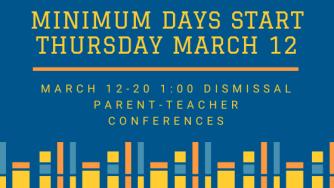 minimum days start march 12