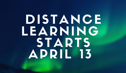 distance learning starts april 13