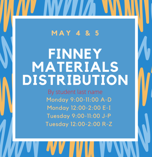 Finney materials distribution
